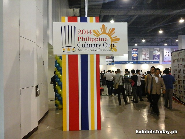 2014 Philippine Culinary Cup Welcome Stand