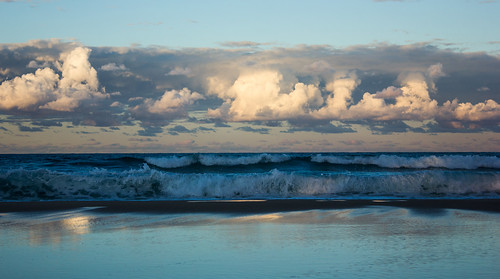 seascape beach clouds australia burleighheads allieca