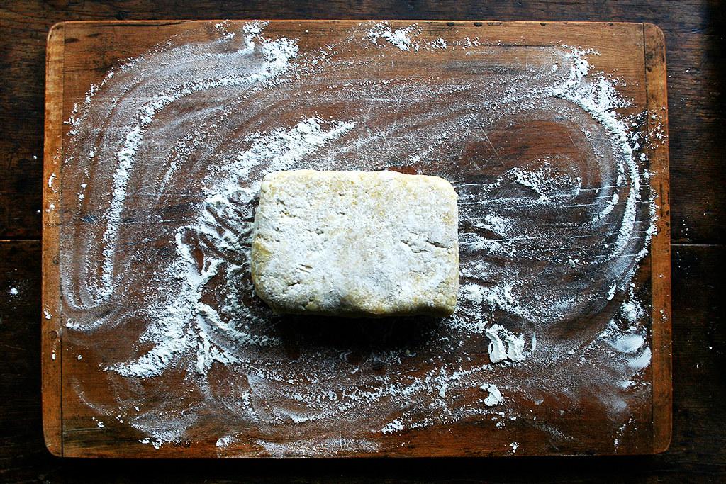 slab galette dough