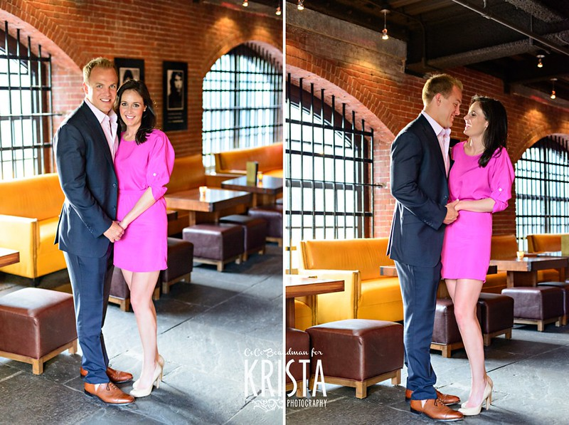 Beacon Hill Engagement Portrait Session