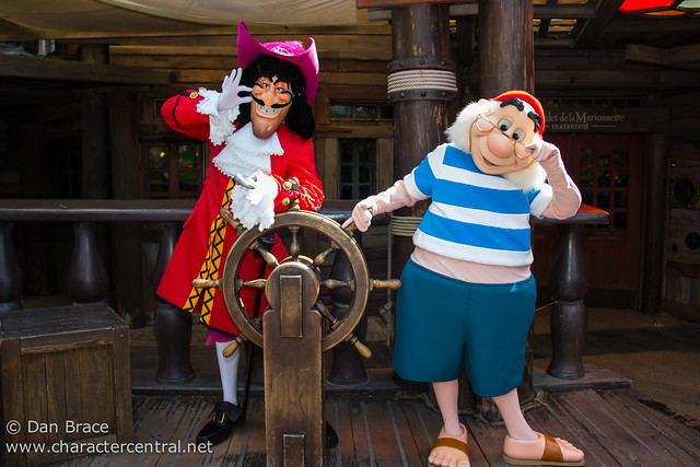 Meeting Captain Hook and Mr Smee