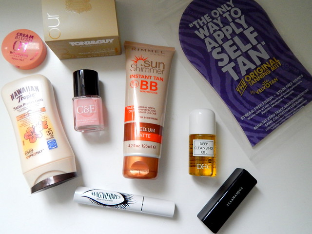 Latest in Beauty Glamour Edit Box Review