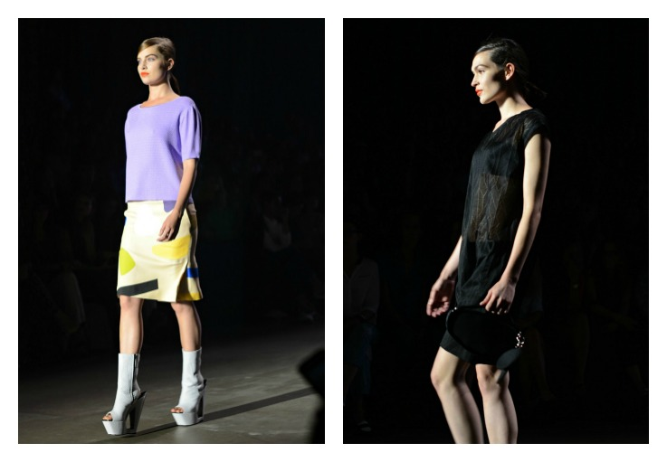 Collage Ready To Fish, Amsterdam Fashion week 2014