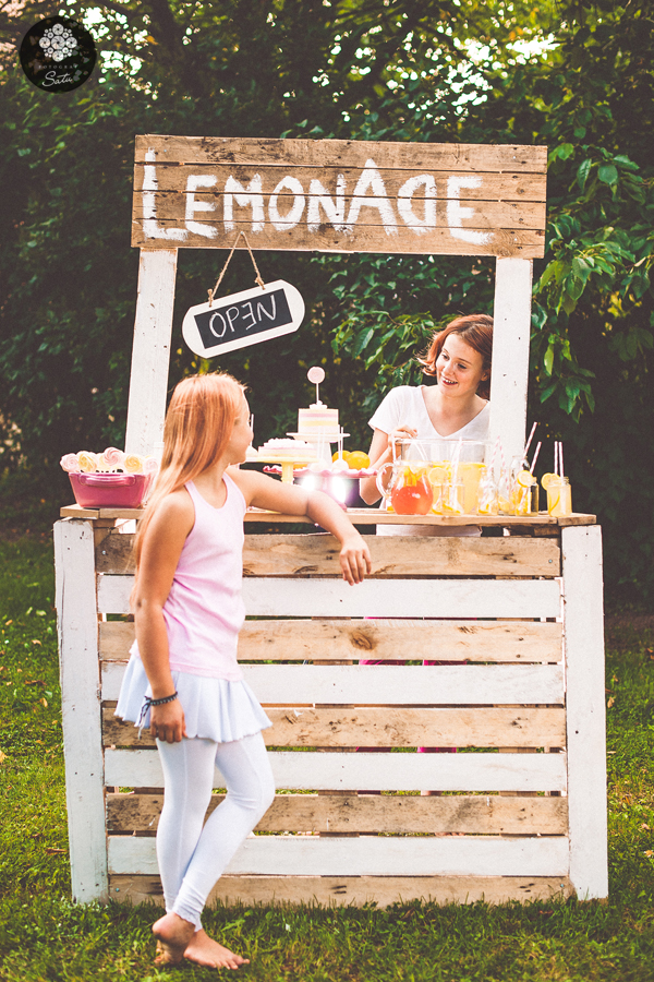 lemonad dessertbord