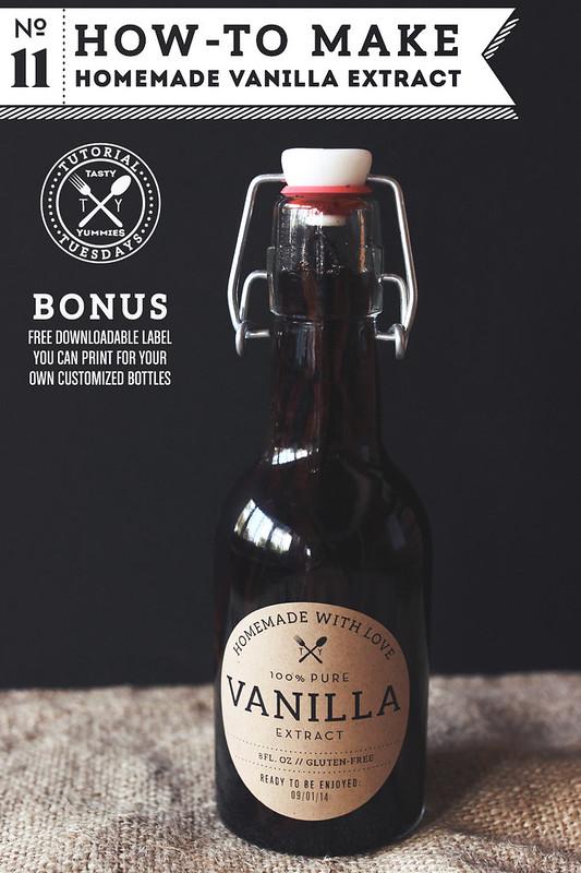 Homemade Vanilla Extract Recipe | Tasty Yummies How-to