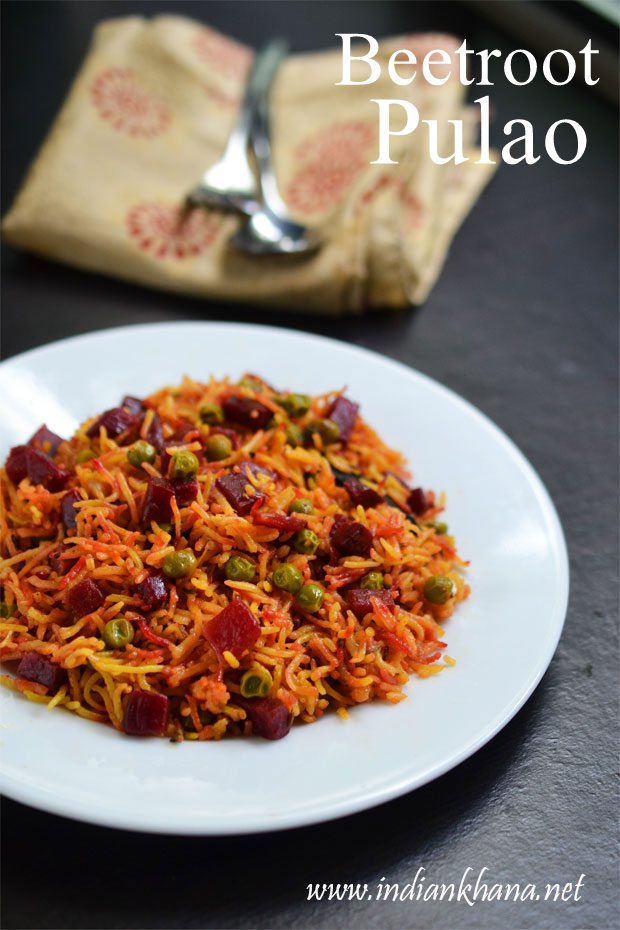 Beetroot-Pulao-Recipe