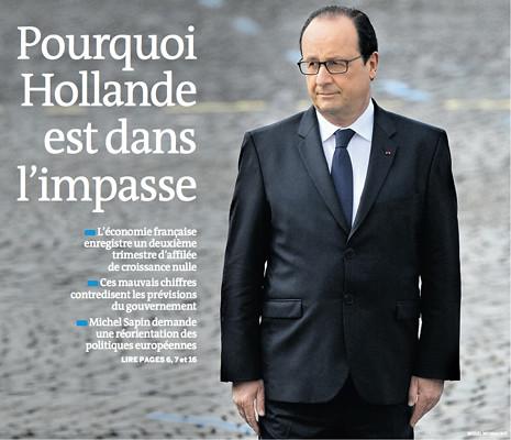 14h14 LMonde Hollande en un callejón sin salida