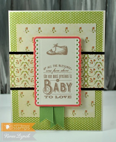 WMS Little Darling Sentiments/Vintage Baby Shower