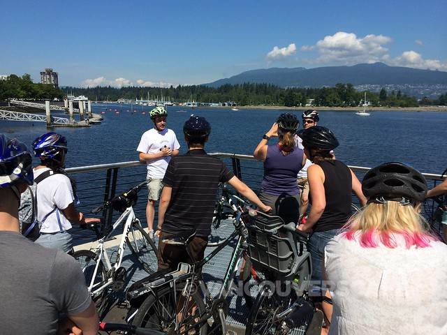 Vancouver Bike Brewery Tours