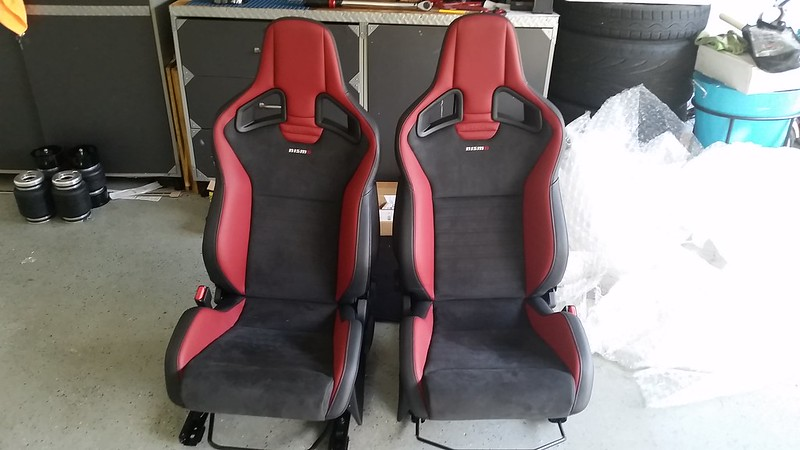 For Sale Nismo Juke Rs Recaro Racing Seats W Airbags Nissan 370z