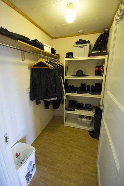 Walk-in closet, or storage?