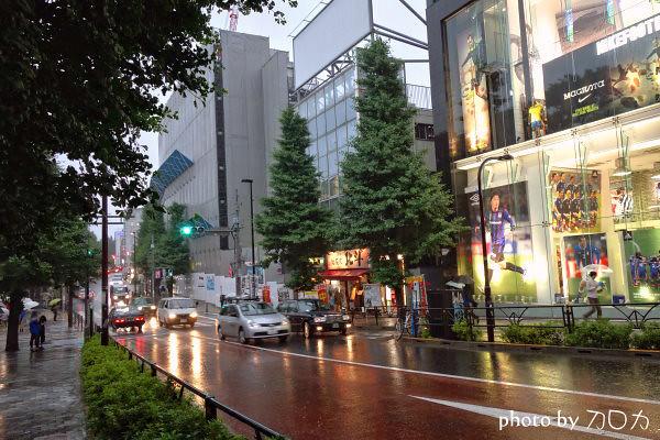 30日本東京原宿車站