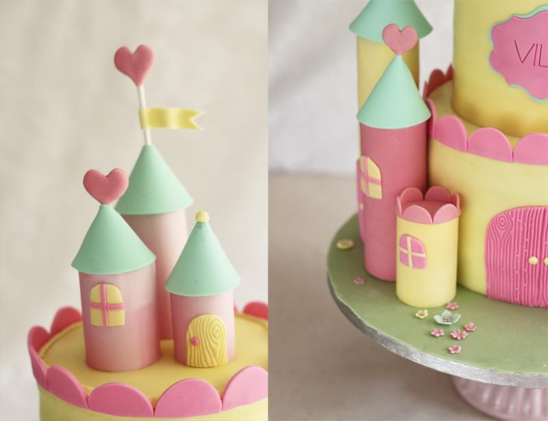 Slott tårta