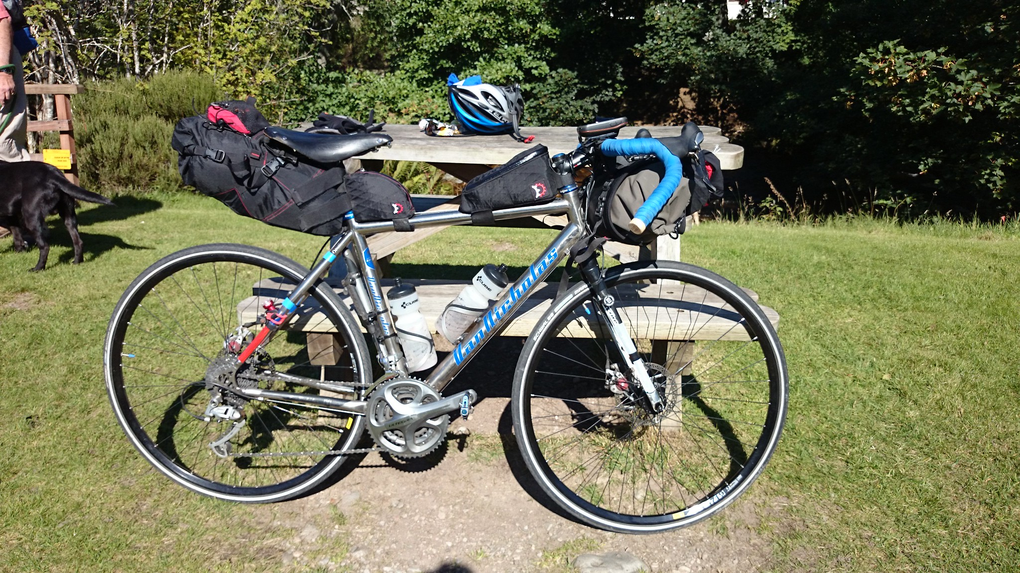 Best Bikepacking Handle Bar Roll Bag For Use With Drop