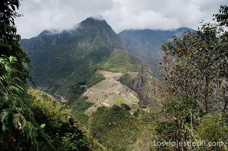 Vista de Machu Picchu desde el Hayna Picchu