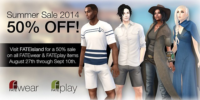 FATE Summer Sale 2014