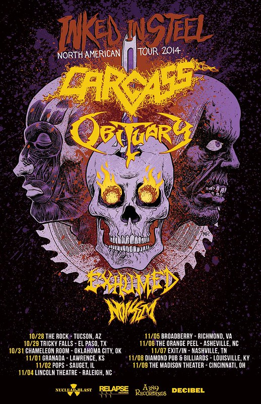 Carcass at the Broadberry
