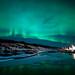 Aurora Borealis at Þingvellir by dawvon