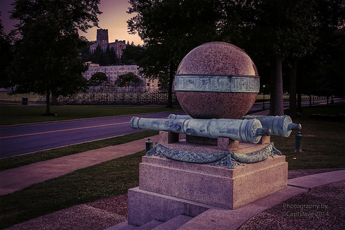 United States Military Academy West Point Battle Monument Dorms Chapel Sunset HDR 6X4