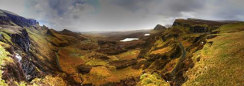 uk panorama skye scotland escocia hebrides schottland scocia