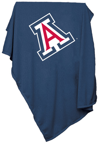 Arizona Wildcats NCAA Sweatshirt Blanket