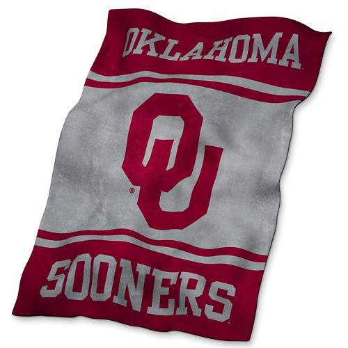 Oklahoma OU Sooners Ultrasoft Blanket