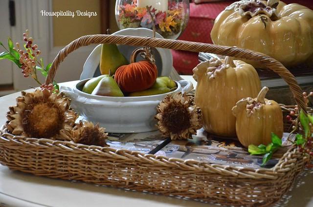 Fall Table Vignette/Housepitality Designs