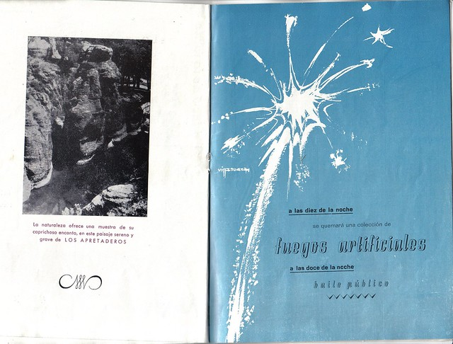Programa Fiestas de San Lorenzo Año 1965