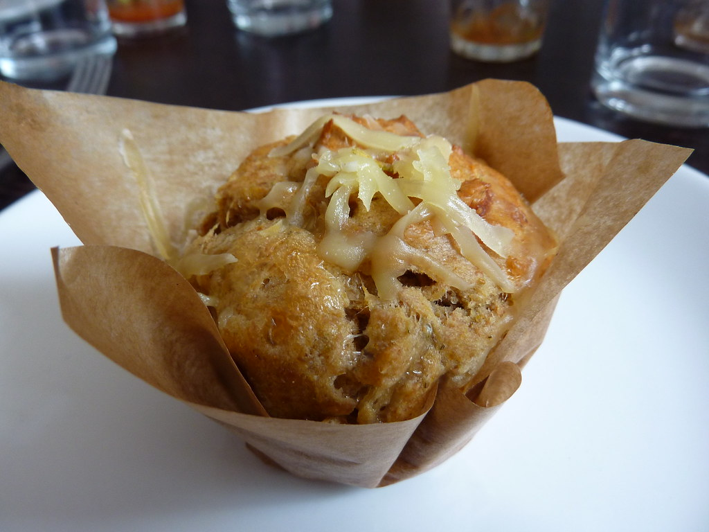 Jarlsberg and Fennel Muffin