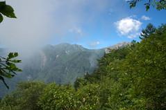 夜叉神峠付近より白峰三山
