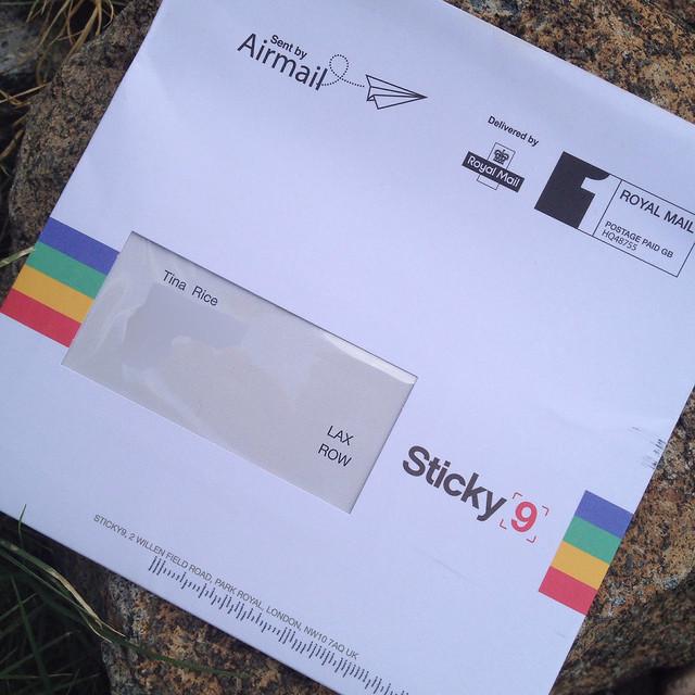 My Sticky8 Mail