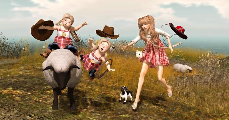 """Amelie et les petites: Episode """"Country life II"""""""