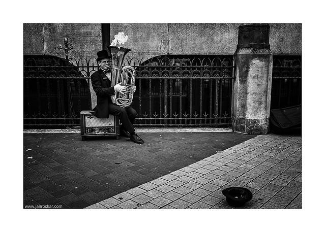 the musician slash magician