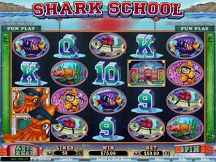 Shark School slot game online review