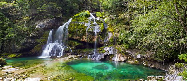 Slap Virje, Slovenija