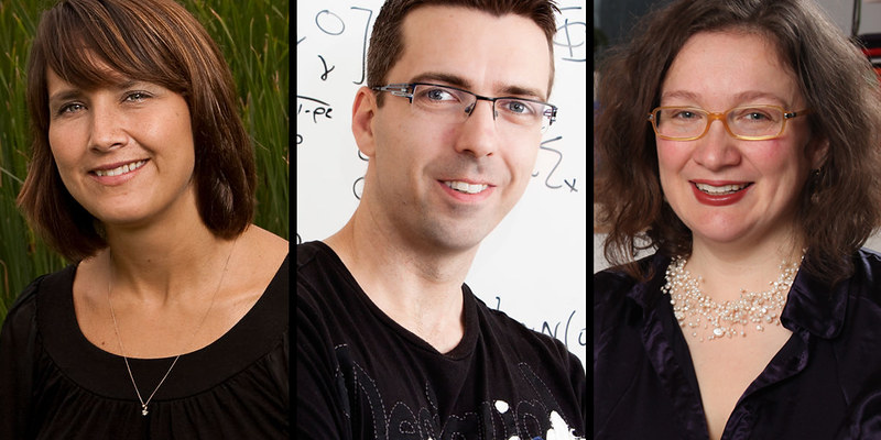 The Royal Society of Canada has recognized Pascale Champagne, Una D'Elia and Morten Nielsen as emerging research leaders.