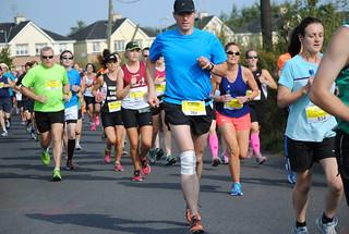 START: Athlone Flatline Half Marathon 2014