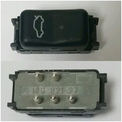 #For#Sale#Used#Parts#Mercedes#Benz#OEM#R129#SLClass#alyehliparts#alyehli#UAE#AbuDhabi#AlFalah#City  For Sale Mercedes Benz OEM R129 SL Class Used Parts :  R129 REMOTE-CONTROL TRUNK LID OPENING - Boot Switch 1298212751  Part Number : 129 821 27 51  Models: