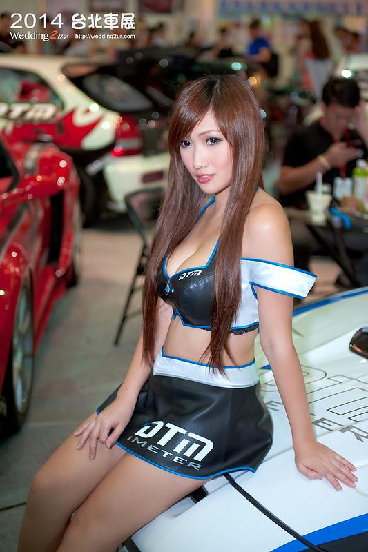 2014台北車展 show girl,50