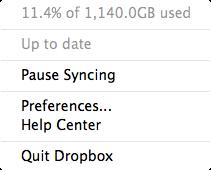 Dropbox - 1TB Mac