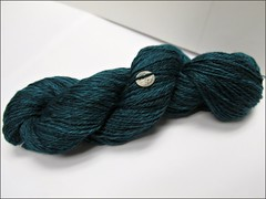 Deep Teal Dream handspun