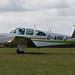 G-ARKJ Beech N35 Bonanza on 31 August 2014 Lasham