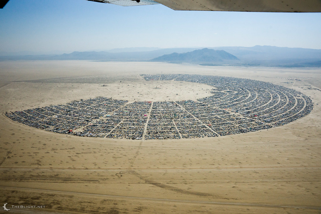 Black Rock City — Burning Man 2014