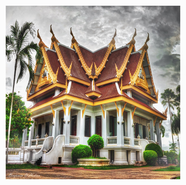 Thai Temple in Gothic Style