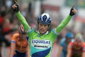 Amstel 2005 - affermazione di Di Luca