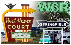 qsl template ROUTE 66 5