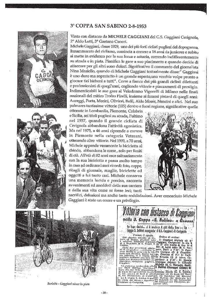 Tratto dal libro 60 anni di ciclismo a Canosa