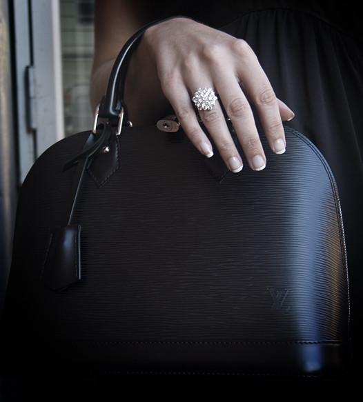 1960's Diamond Cocktail Ring