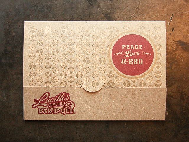 lucilles gift card lucille s bbq gift card holder flickr photo sharing 3982