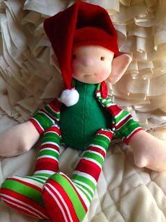 Waldorf Inspired Holiday Elf